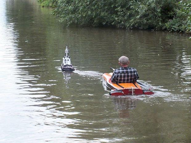 Bilder: Så här kan man också avnjuta båtliv