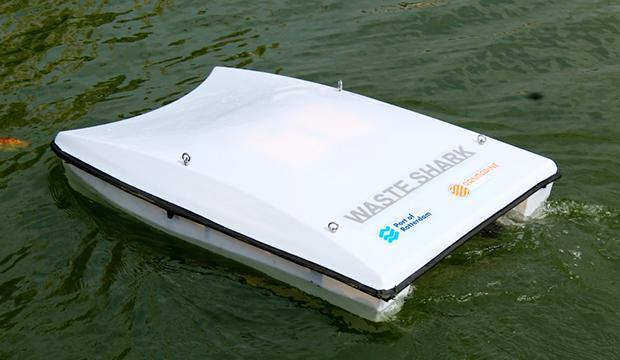 TV: Här är båten som äter skräp