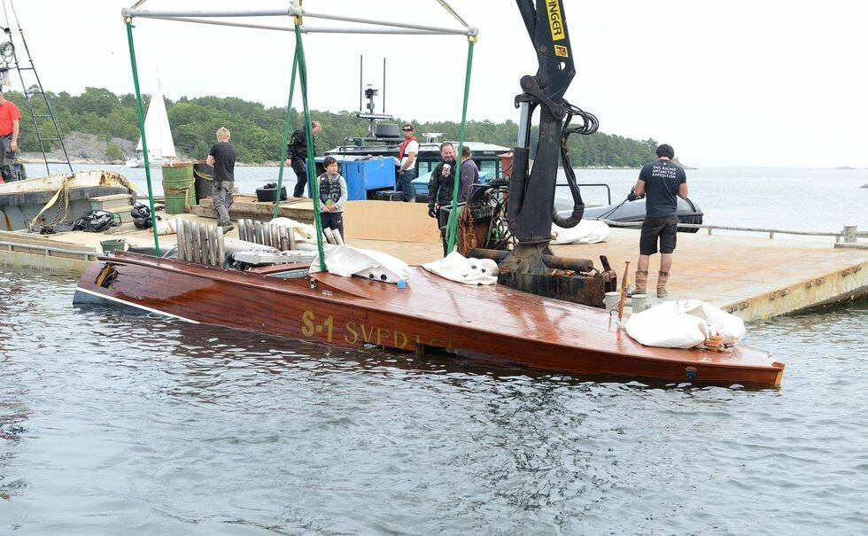 Så fick monsterbåten S-1 Sverige ett tredje liv