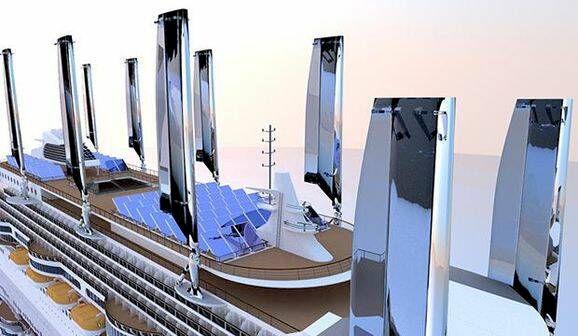 Därför har framtidens kryssningsfartyg tio master