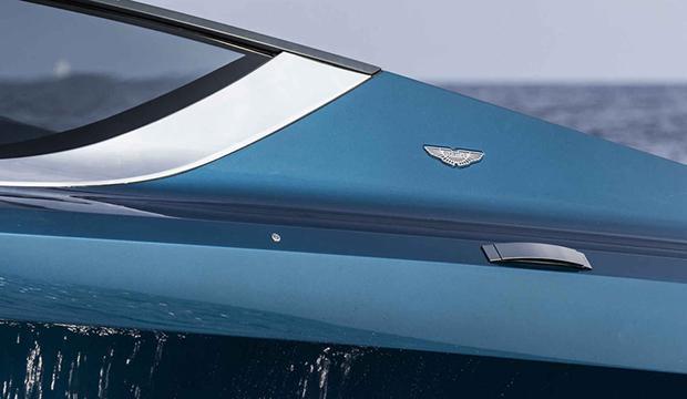 Bilder: Här visar Aston Martin upp sin nya lyxbåt