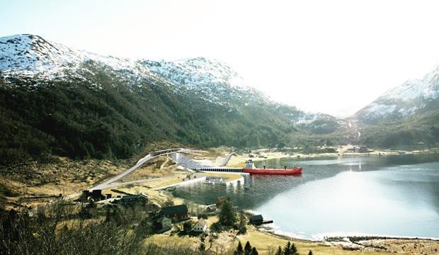 Här byggs världens största fartygstunnel