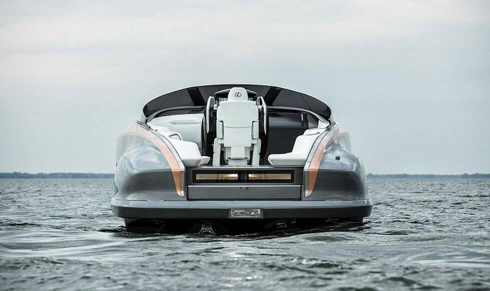 TV: Här är biltillverkaren Lexus nya galna superbåt