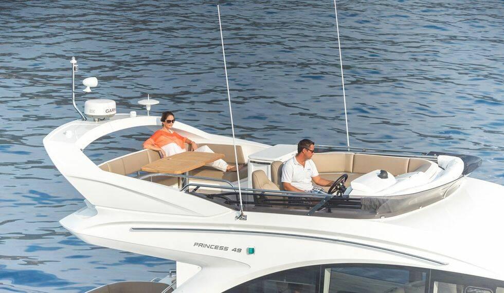 Ny Princess är mässans största motorbåt