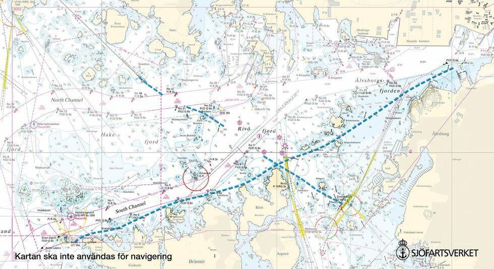 Här är nya farleden för fritidsbåtar i Göteborg