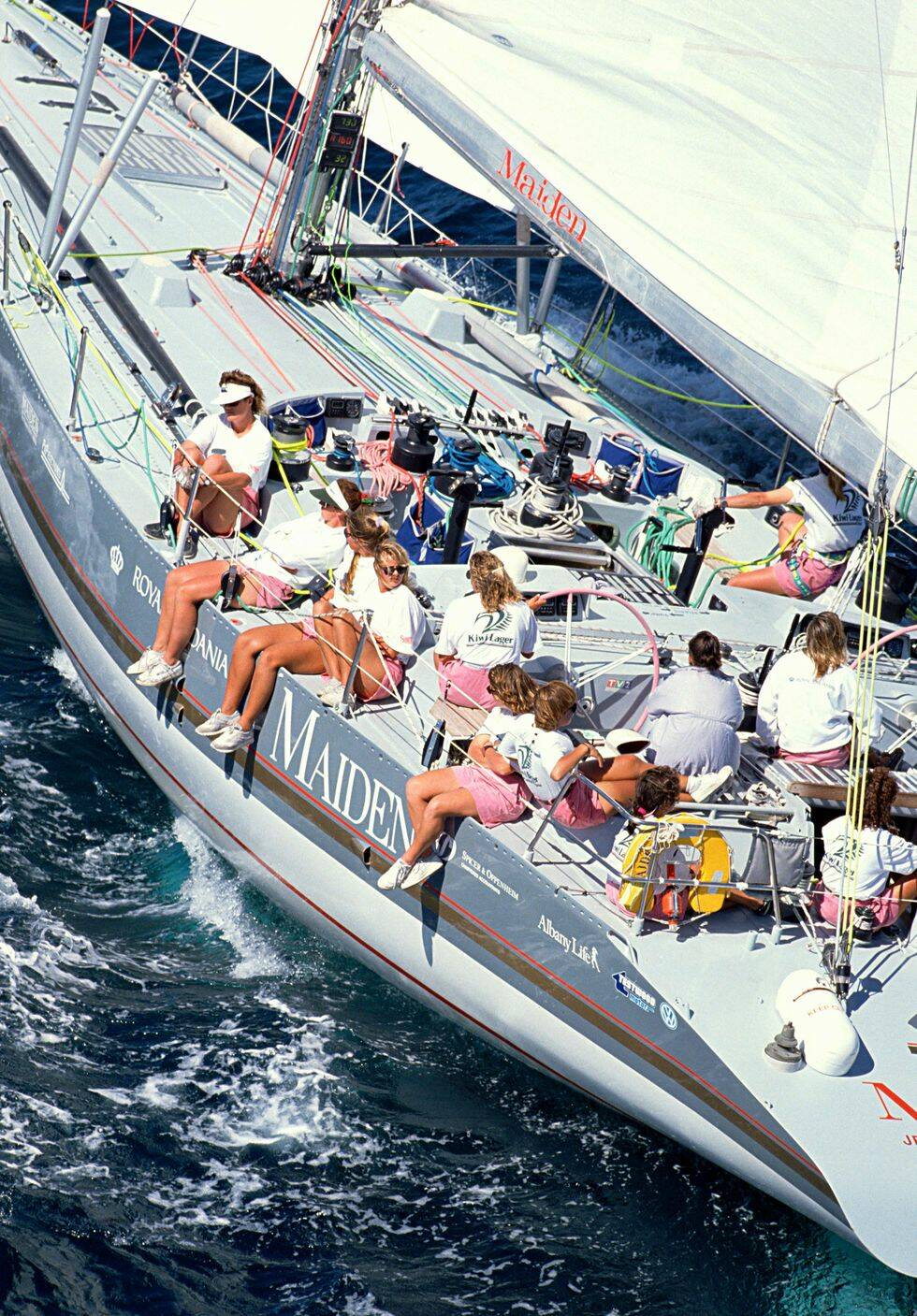 Klassiska Whitbread-båtar tävlar i Göteborg