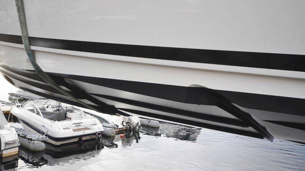 Här är båtskrovet som gör båten snabbare och snålare