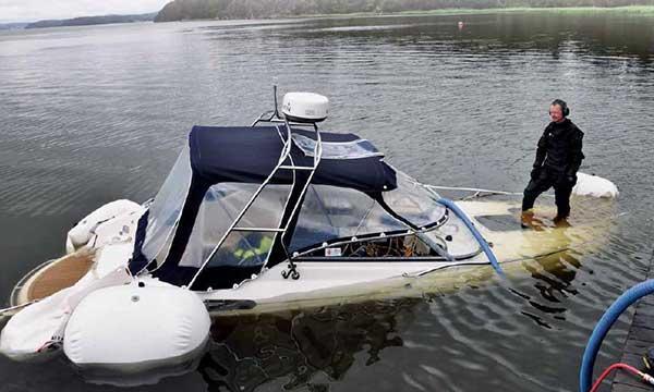 Niklas Eriksson har bärgat över 600 båtar
