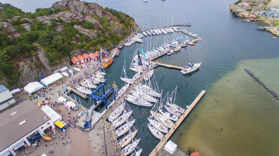 Sweboat + Hallberg-Rassy = Orust Sailboat Show